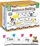 Key Education 面向儿童的句子学习-适用于幼儿园二年级的早期阅读,演讲,写作,语言,识字资源的视线词汇生成器