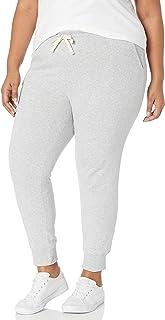 Amazon Essentials 女士加大码法国厚绒布抓绒慢跑运动裤