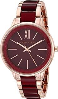 Anne Klein 女士树脂正装手链手表