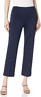 Lyssé 女式 Sonia 喇叭九分裤图案