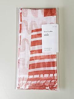 亚麻棉披肩 瑞绒 橙色 约38×180厘米(不含流苏174厘米) KYI-4011