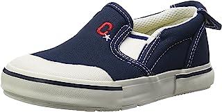 Carrot 懒人鞋 防溅水 4大功能 宽松 14-21厘米(有0.5厘米选项) 鞋宽2E 儿童 CR ST14 藏青色 19.5 cm 2E