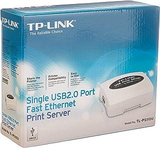 TP-LINK TL-PS110U 单个 USB 2.0 端口快速以太网打印服务器