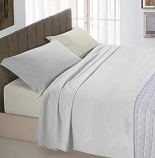 """意大利床上用品""""自然色""""床上用品套装,浅灰色/奶油色,单件"""