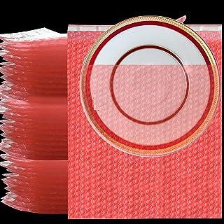 25 件装大泡泡袋,12 x 16 英寸(约 30.4 x 40.6 厘米)自密封气泡袋包装袋,快速气泡缓冲包裹保护袋,用于移动运输脆弱的中国菜肴电子产品