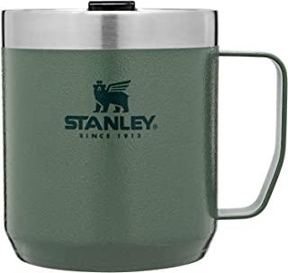 Stanley Legendary Camp 马克杯,不锈钢真空隔热咖啡杯,带直饮盖