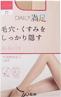 """(DAILY MANZOKU)DAILY MANZOKU 3P 日常满足 """"毛孔 紧密遮盖"""" 厚丝袜"""