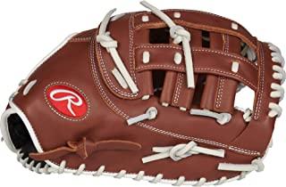 Rawlings R9 垒球系列 12.5 英寸 R9SBFBM-17DB 快投垒球*垒手套