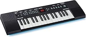 Alesis Melody 32 便携式 32 键迷你数码钢琴,带内置扬声器,300 种集成声音,40 首演示歌曲,USB-MIDI 连接