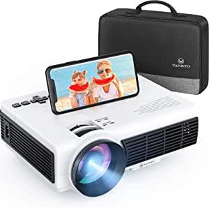VANKYO Leisure 3W 迷你投影仪 同步智能手机屏幕 3600L 便携式 WiFi 投影仪支持 1080P 适用于 iOS/安卓设备,兼容电视棒,PS4,HDMI 适用于家庭和室外