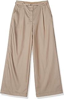 NATURAL BEAUTY BASIC 裤子 青年布阔腿裤