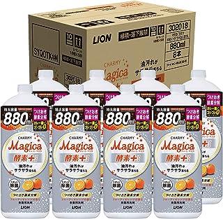 CHARMY Magica 餐具洗涤剂 酵素Plus 水果橙香味 替换装 大型 880毫升×8个