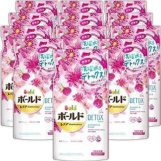Bold 洗衣液 液体 洗衣水 混合 芳香花香 替换装 600克×12袋