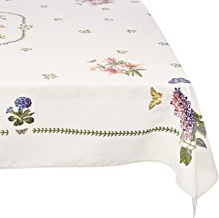 Avanti Linens 植物花园 60X102 桌布,象牙色