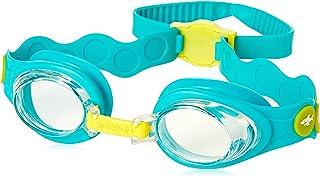 Speedo 中性款成人海洋系列护目镜 - 蓝色/黄色,均码