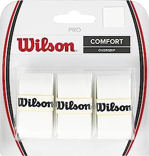 Wilson 网球拍专业球拍,白色,3 件装