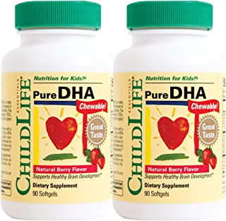 Childlife Pure Dha 软胶囊,180粒
