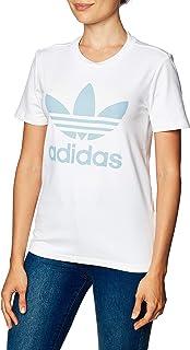 adidas 阿迪达斯女式三叶草 T 恤