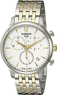Tissot T0636172203700 传统模拟显示瑞士石英双色手表