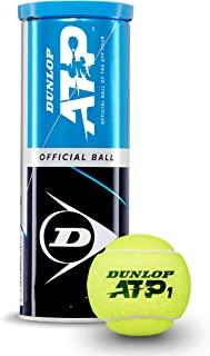 Dunlop 邓禄普 中性成人款 601313 网球 ATP Official-3 球,黄色,均码