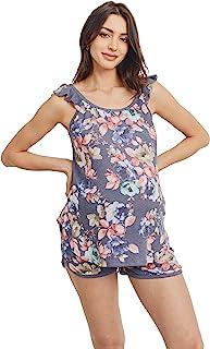 LaClef 女式孕妇睡衣套装家居服
