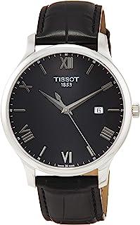 Tissot 传统 - T0636101605800T0636101605800 analog 皮革 黑色 T0636101605800 watches
