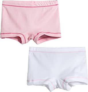 City Threads 女童 2 条装平角裤内裤 Bloomers for Play and Under Dresses 美国制造