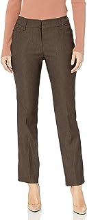 Ruby Rd. 女式小门襟混色千年科技弹力裤