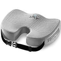 坐靠垫记忆泡沫 – with Orthopaedic Design to relieve Coccyx , Sciati…