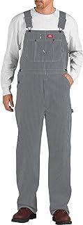 Dickies 男式 hickory 围兜下装裤子
