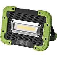 EMOS P4533 可充电防水 LED 工作灯 / 便携式野营灯,超亮 1000 流明,45 米照明范围,3 种灯光模…