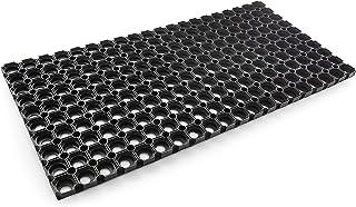 Jimmy Gum 8054144380117 Zerbino Universal Fußmatte aus Gummi, Schwarz, 60 x 40cm