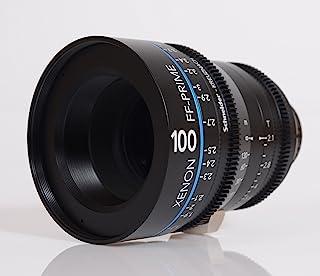 Schneider十字架 1078529 Cine 镜头 FF-Prime T2.1/100 毫米,Nikon/m 黑色