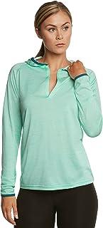 女式轻量级连帽衫 - 女式运动外套 - 修身干燥 - 包括免费毛巾!