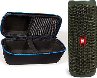 JBL Flip 5 防水便携式无线蓝牙音箱套装带divvi!硬质保护壳 - *