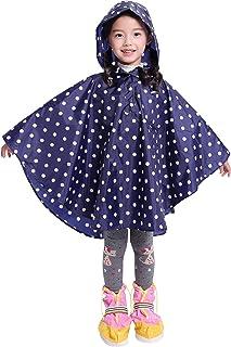 Spmor 儿童雨披连帽夹克雨衣