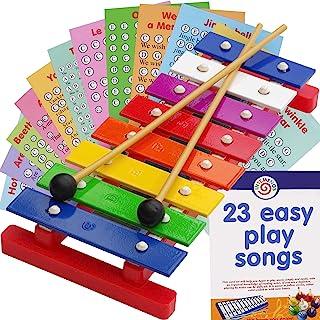 8-Note 儿童钟琴 - 儿童音乐木琴 - 22 首易演奏歌曲...