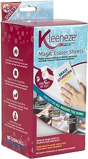 Kleeneze KL080899EU7 魔法污渍卸妆湿巾 16 件 去除厨房和浴室顽固污渍 清洁无化学物质,白色,18.8 x 9.1 x 7 厘米