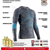 X-Bionic 男式 Energy Accumulator 4.0 圆领长袖 T 恤