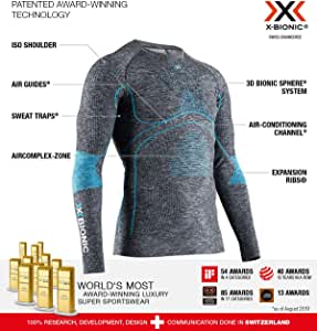 X-Bionic Energy Accumulator 4.0 男式圆领长袖运动衫