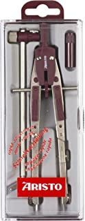 Aristo AR55518AZ Profi 快速调整圆圈,带折叠盖,*红色银,带延长杆