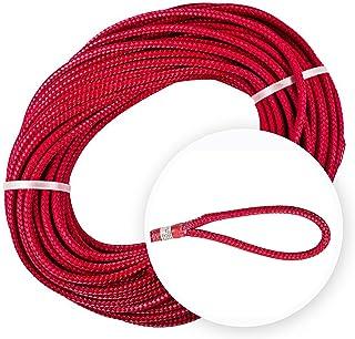 Teufelberger Sta-Set 牵引线 – 双编织涤纶绳索,高档,聚氨酯涂层,耐磨