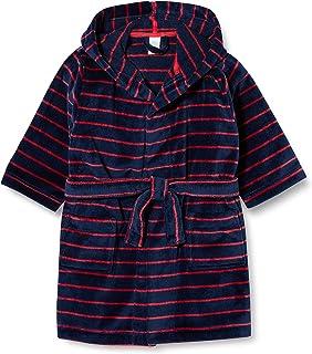 Sanetta 男童北欧蓝 穿着这款舒适的浴袍精致的条纹外观,非常显眼。