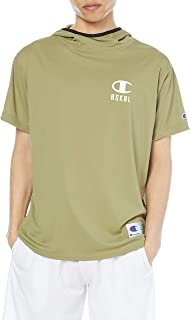 Champion 连帽T恤 篮球运动衫 *防臭 速干 防紫外线 单点徽标 男士 C3-TB342