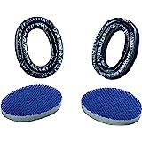 MSA 10082377 APR 卫生凝胶套装,环 (2),密封,SOR60092 标准 黑色/蓝色 10082377…
