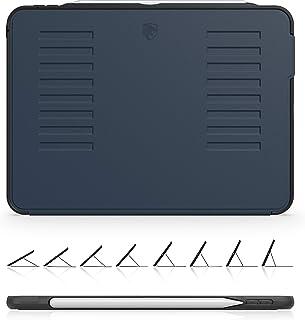 The Muse Case - 2018 iPad Pro 11 英寸 * 1 代(旧型号) - 非常保护但轻薄 + 方便的磁性支架 + */唤醒盖 - ZUGU 保护套 - *蓝(适合型号 # A1934、A1979、A1980、A2013)