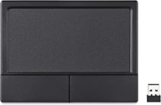Perixx PERIPAD-704 无线触摸板,便携式触控板,适用于台式机和笔记本电脑用户,大号尺寸 4.7 x 3.5 x 0.7 英寸(无线),黑色