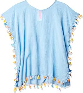 Seafolly 女童长袍游泳罩衫连衣裙