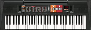 Yamaha PSRF51 Electronic Keyboard - Black