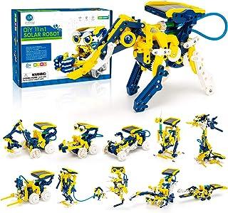 CIRO STEM 项目,11 合 1 太阳能机器人玩具,教育科学实验套装,适合 8-12 岁儿童,231 件男孩女孩搭建套装